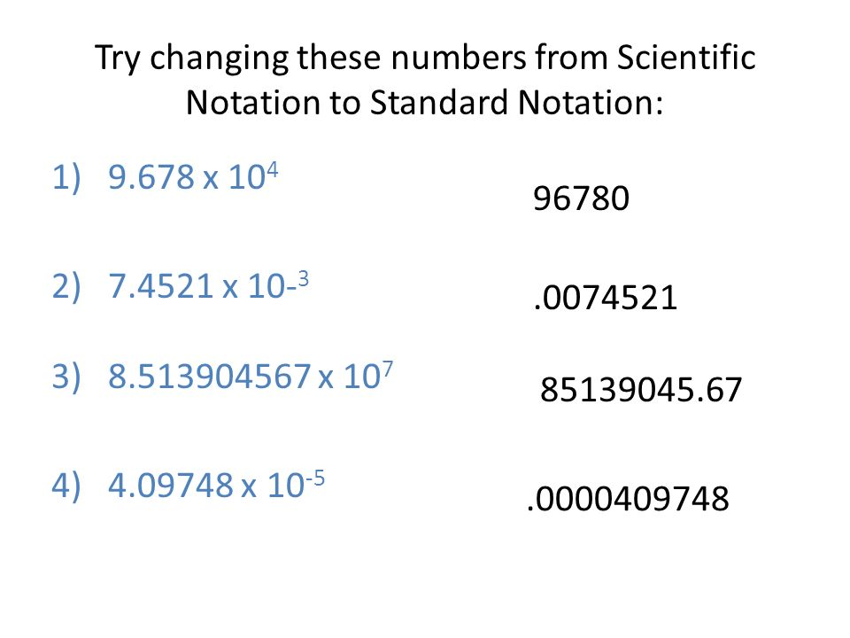 Try changing these numbers from Scientific Notation to Standard Notation: