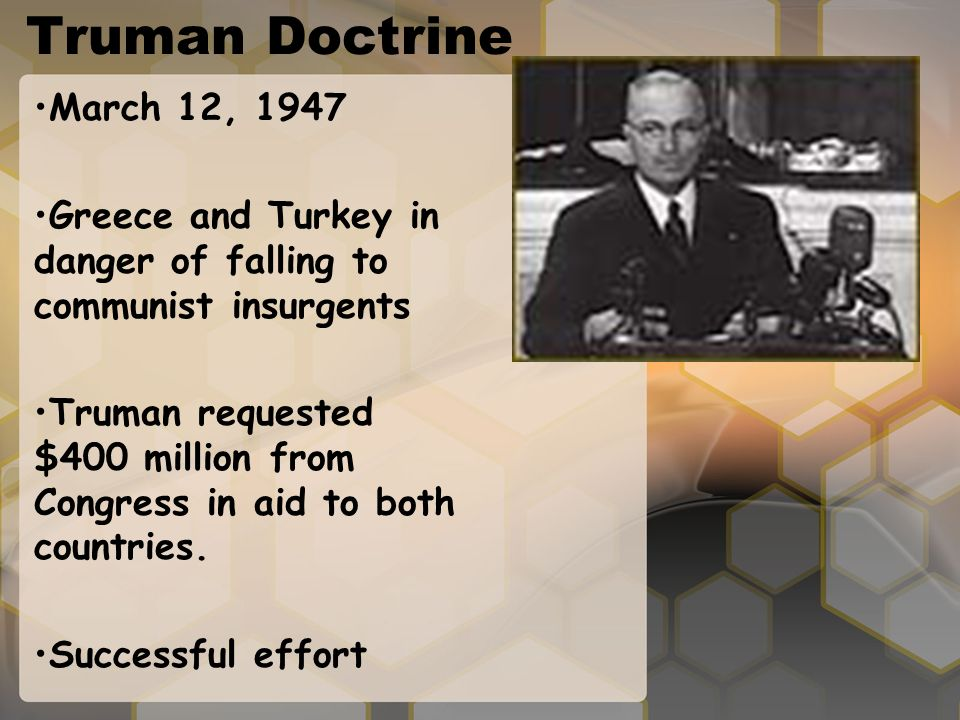 truman doctrine essay questions Only questions posted as public are visible on our truman doctrine 1 truman doctrine according to chiang believe it was evident that the truman doctrine to.