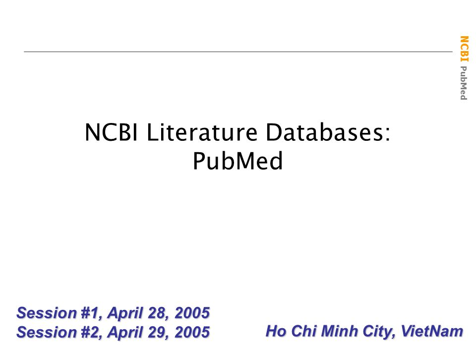Ncbi literature databases pubmed ppt video online download ncbi literature databases pubmed stopboris Image collections