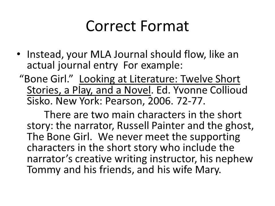 A and p short story essay mla