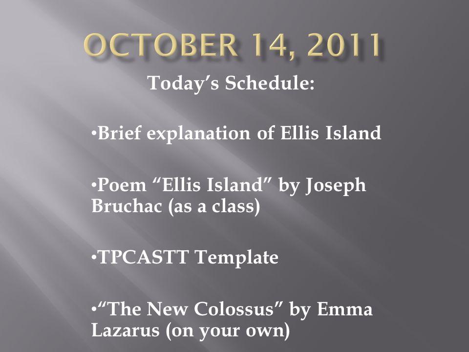 summary of ellis island