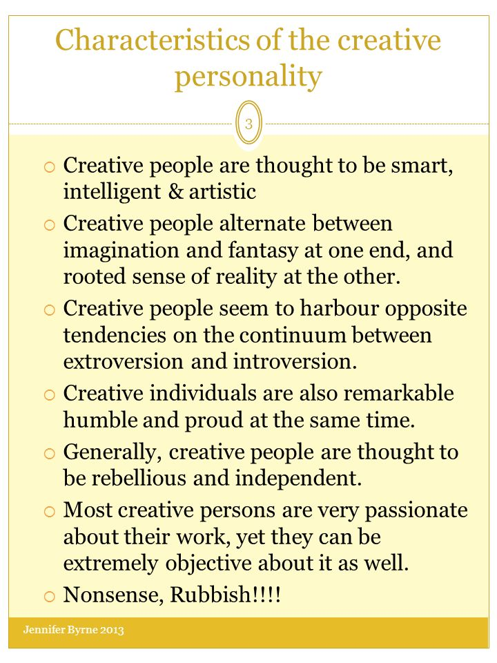 the creative personality Request pdf on researchgate | the creative personality: hong kong perspective | the purpose of this study was to investigate the hong kong chinese perceptions of creative and non-creative .