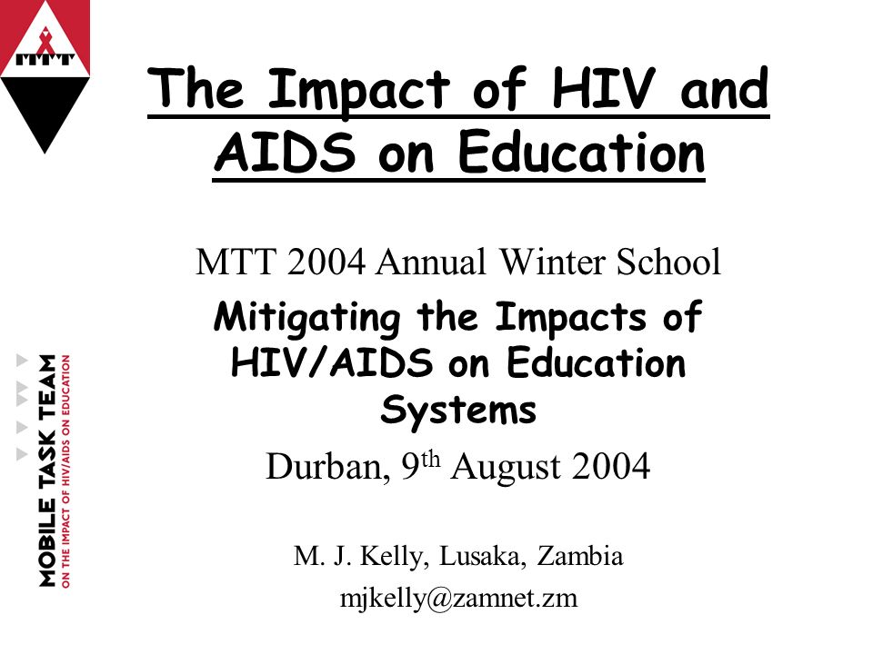 the impact of aid on education Education in the context of hiv and aids the impact of hiv and aids on higher education institutions in uganda anne r katahoire, edward k kirumira.