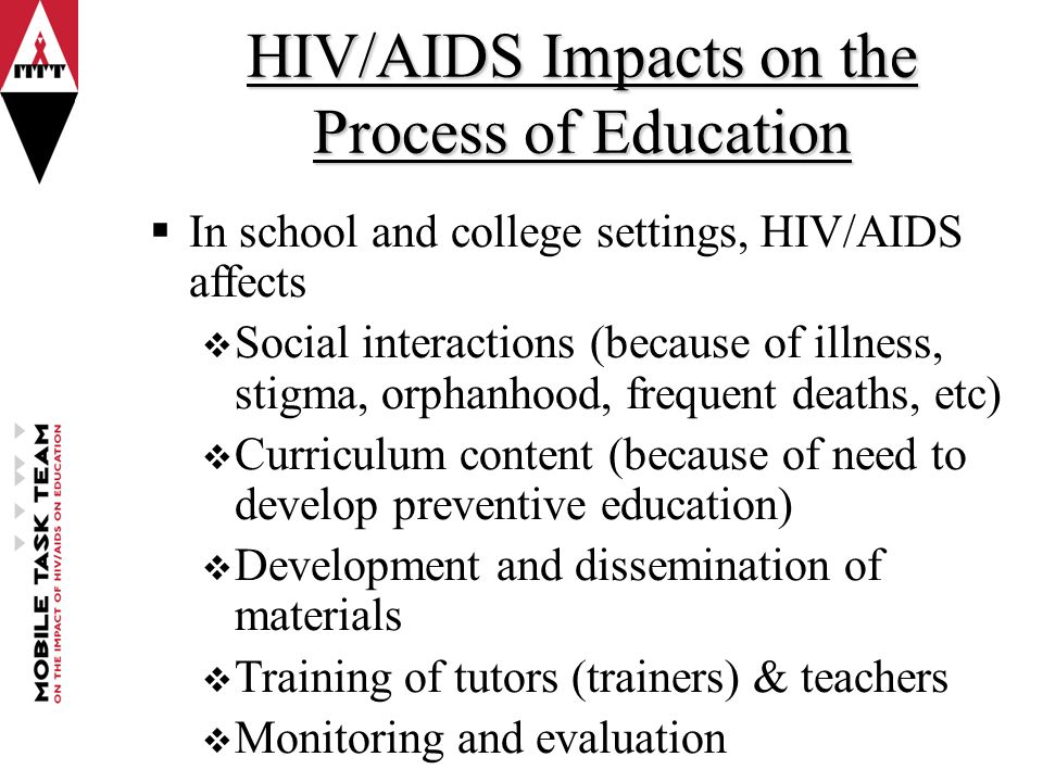 The Effects of HIV/AIDS in South Africa