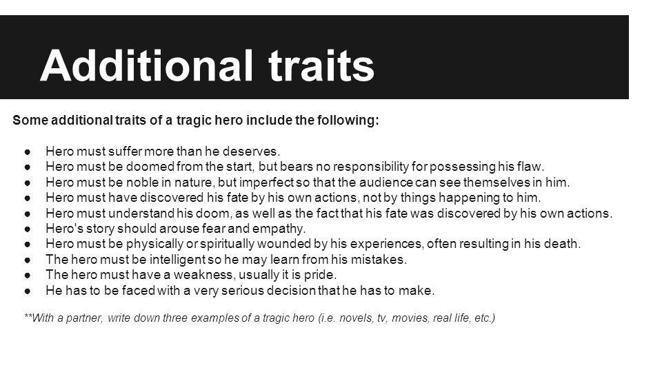 real life tragic heroes