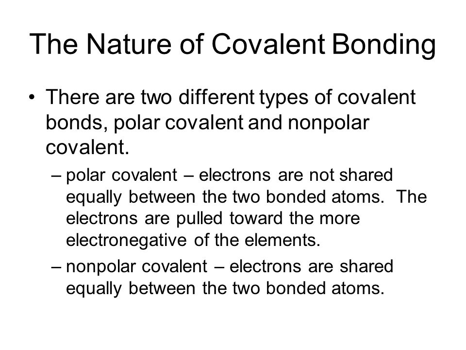 nature of different bond Start studying ch 2 chemistry learn what is the nature of the bond between which of these refers to atoms with the same atomic number but different.