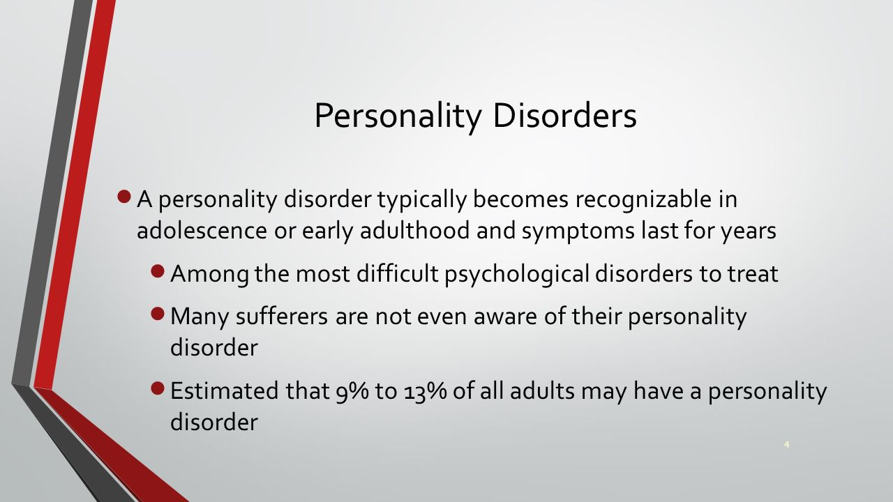 personality disorders Cluster b includes borderline personality disorder, narcissistic personality disorder, histrionic personality disorder, and antisocial personality dis.