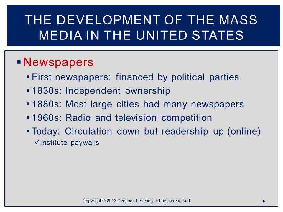 what impact does the mass media The impact of the mass media on the quality of democracy within a state remains a much overlooked area of study posted on december 10, 2014 by eurocrisis in the press by lisa müller.