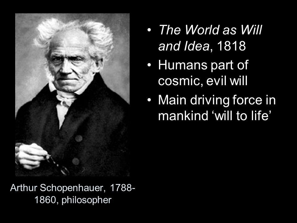 Arthur Schopenhauer, 1788-1860, philosopher