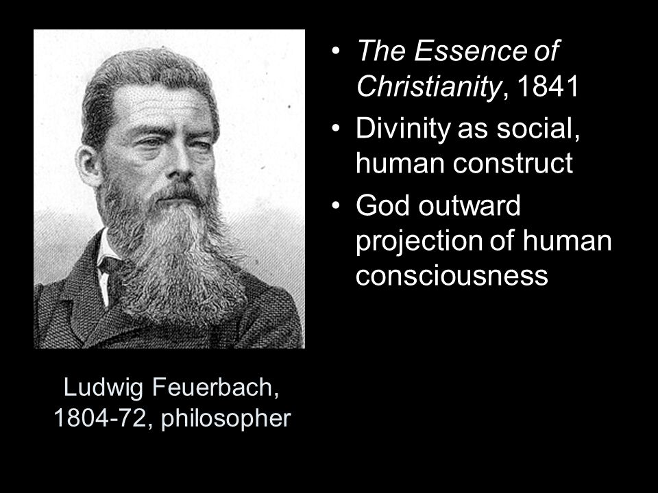 Ludwig Feuerbach, 1804-72, philosopher