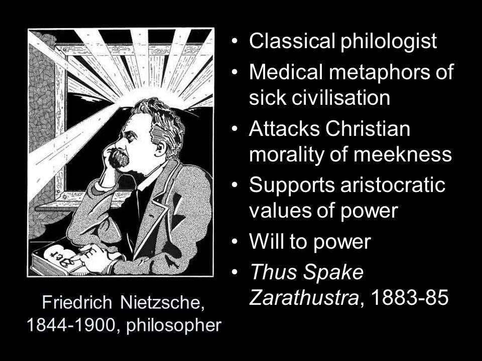 Friedrich Nietzsche, 1844-1900, philosopher