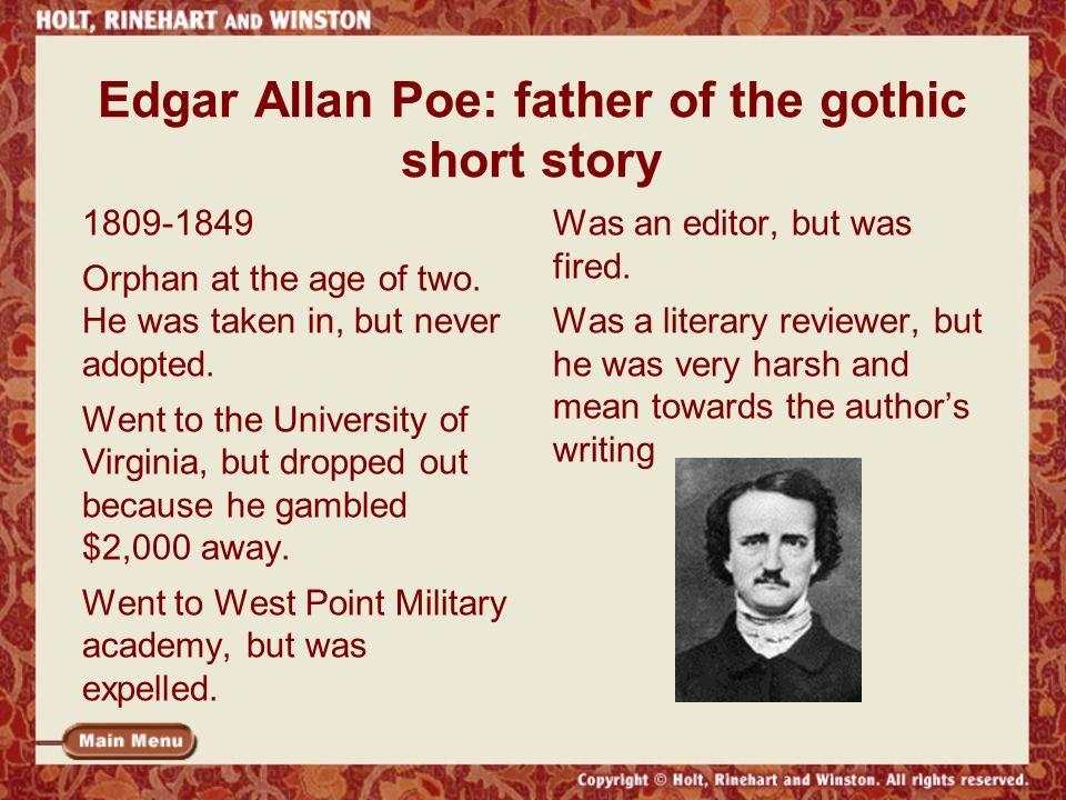 edgar allan poe short stories summaries