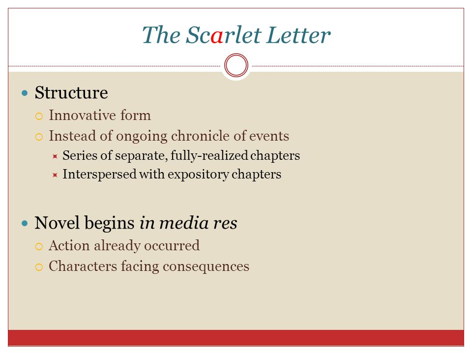 the consequences of negative actions in the scarlet letter by nathaniel hawthorne Written by nathaniel hawthorne,  with unexpected consequences  the scarlet letter brings to life the undying human need to keep secrets.