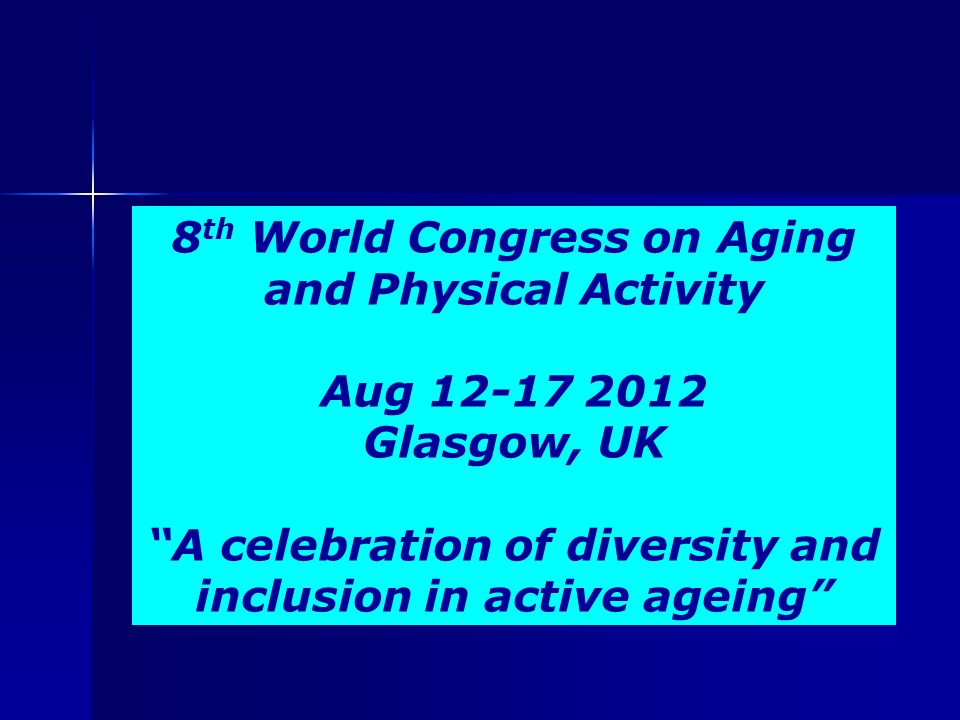 The Importance of Aging Studies: Understanding the Influence of Diversity and Culture