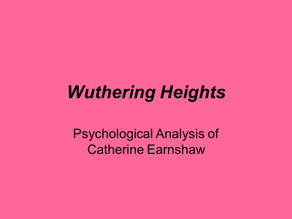 the personalities of catherine and heathcliff in the story wuthering heights Catherine earnshaw is a character at war with herself her conflicting turns of   her co-stars, heathcliff and edgar, are so ridiculously polarized, so simple and.