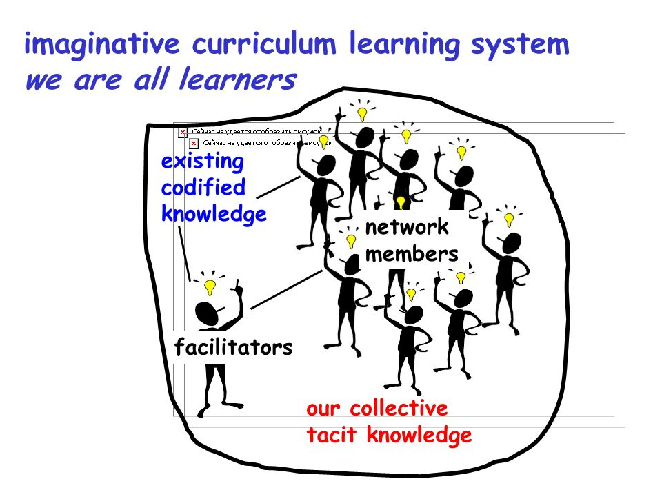 imaginative curriculum learning system we are all learners