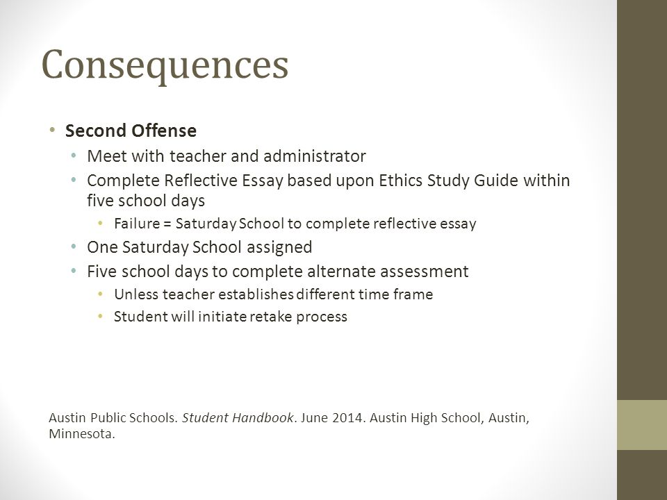 academic integrity policy ppt  8 consequences