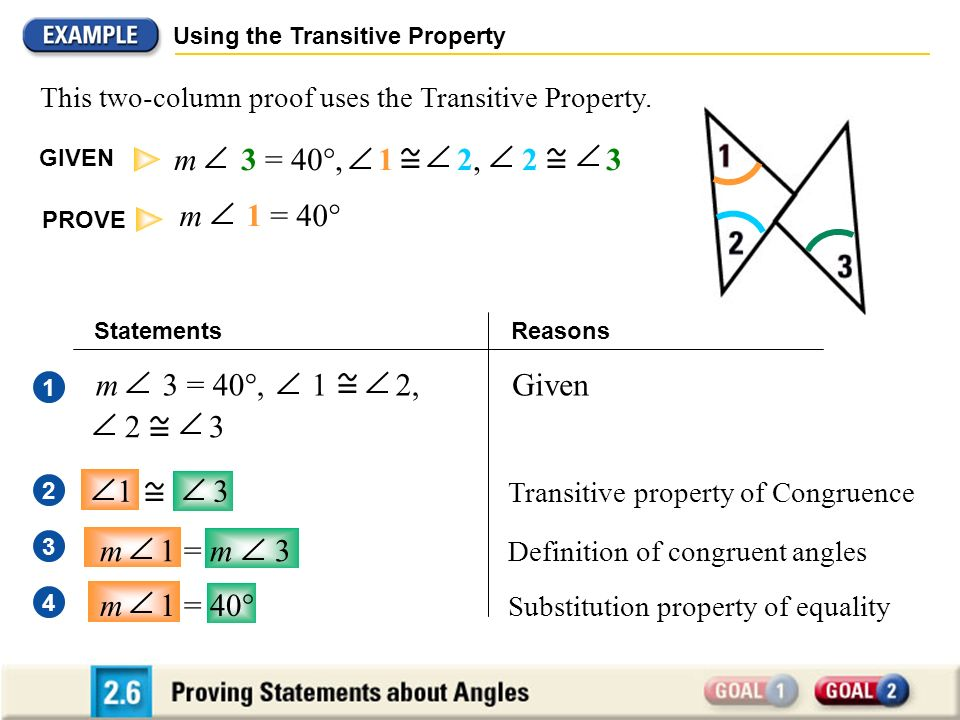 CONGRUENCE OF ANGLES THEOREM - ppt download