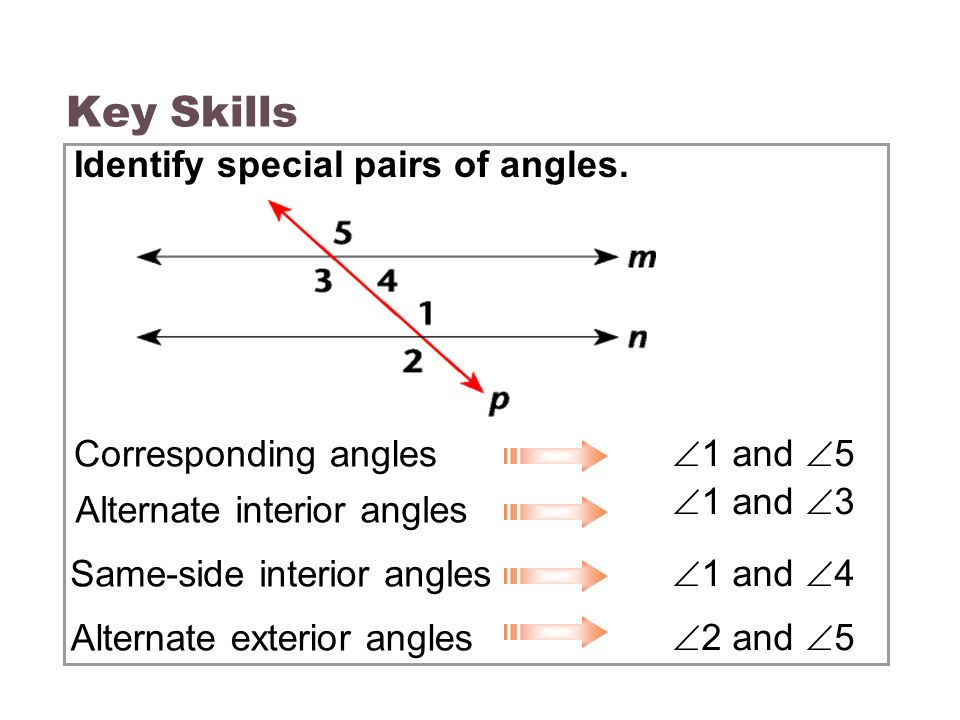 3 3 parallel lines transversals ppt video online download - Same side exterior angles are congruent ...
