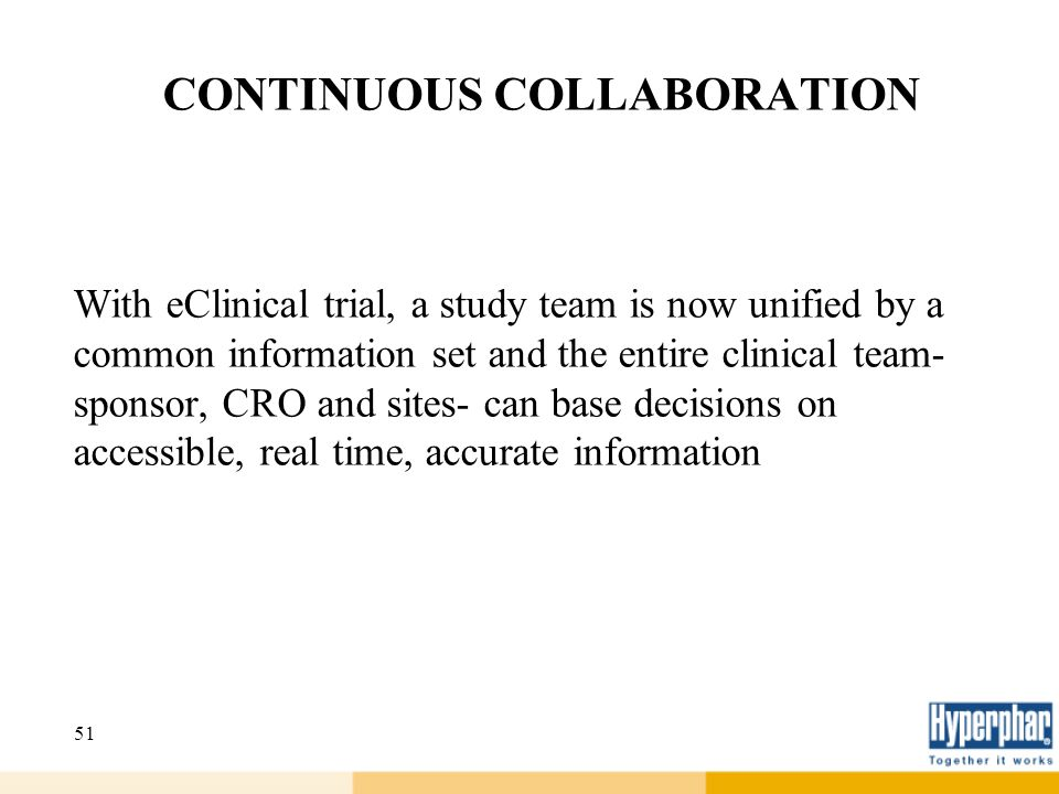 CONTINUOUS COLLABORATION