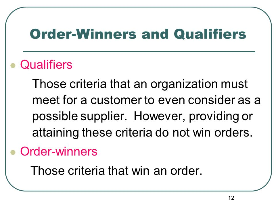 order qualifiers and order winners pdf