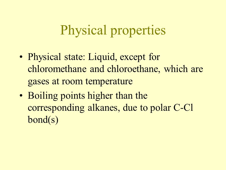 Which Of The Alkanes Are Gases At Room Temperature