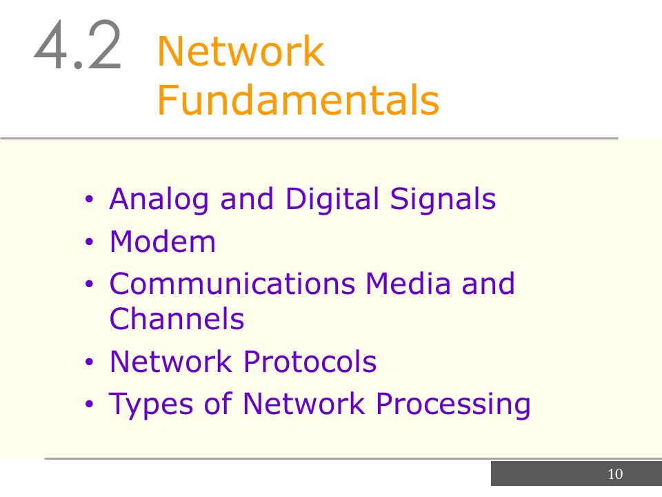 types of modem in networking pdf