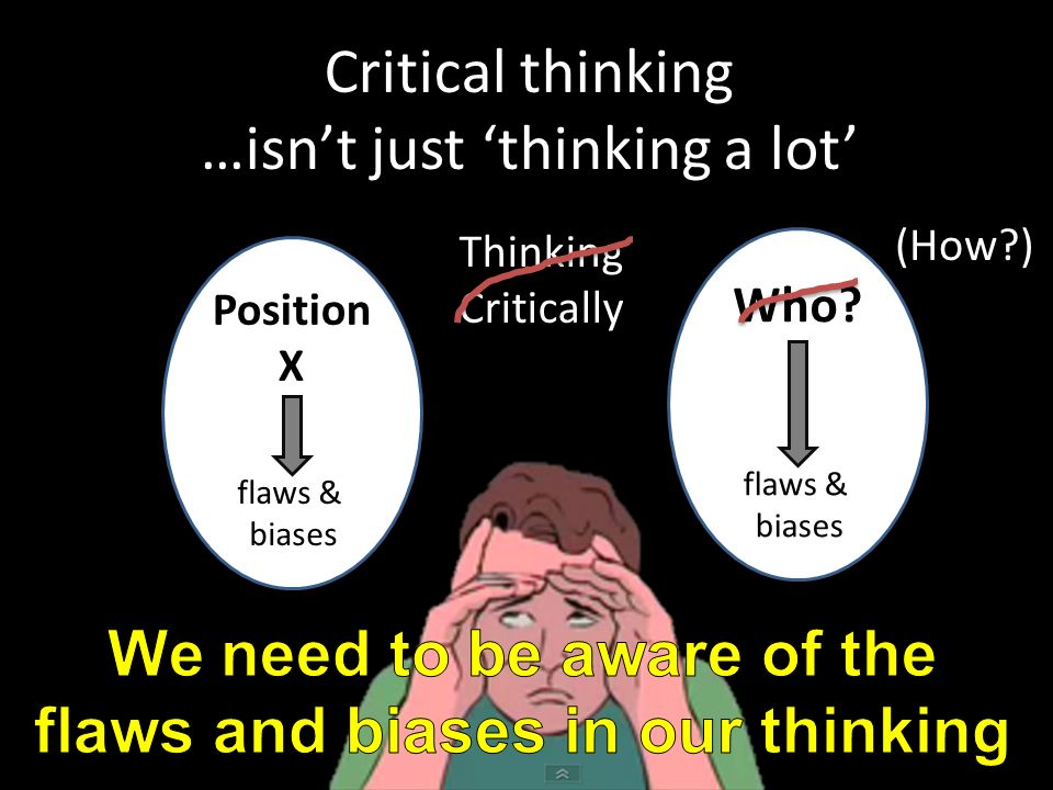 How bias influences critical thinking