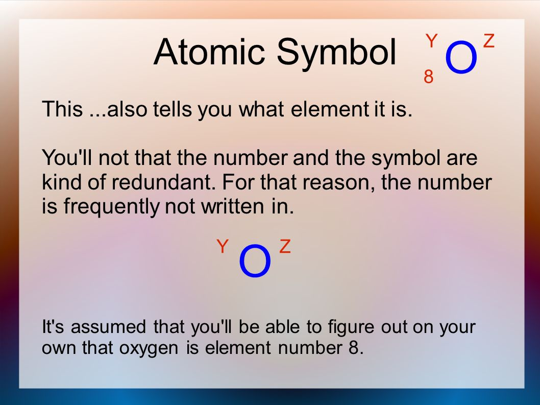 Ions and isotopes ppt video online download o o atomic symbol this so tells you what element it is biocorpaavc