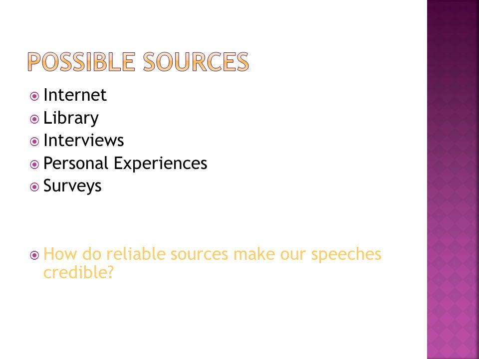 informative speech how to make a