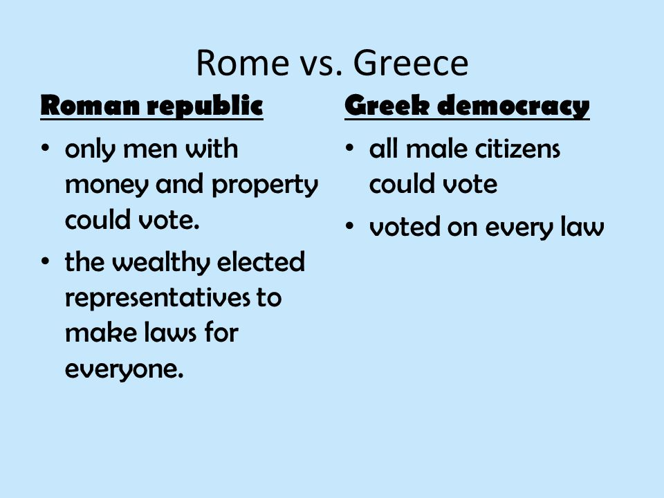 similarities of greece and rome What are some similarities and differences between ancient greece and rome - 1602135.