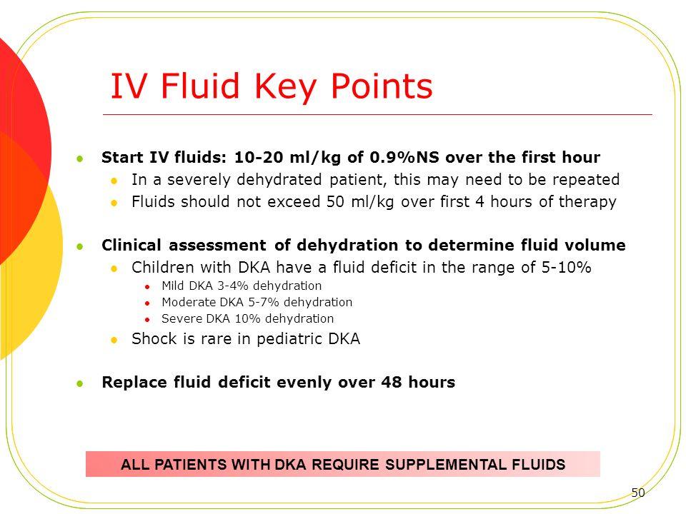 Diabetic ketoacidosis fluid replacement ada guidelines