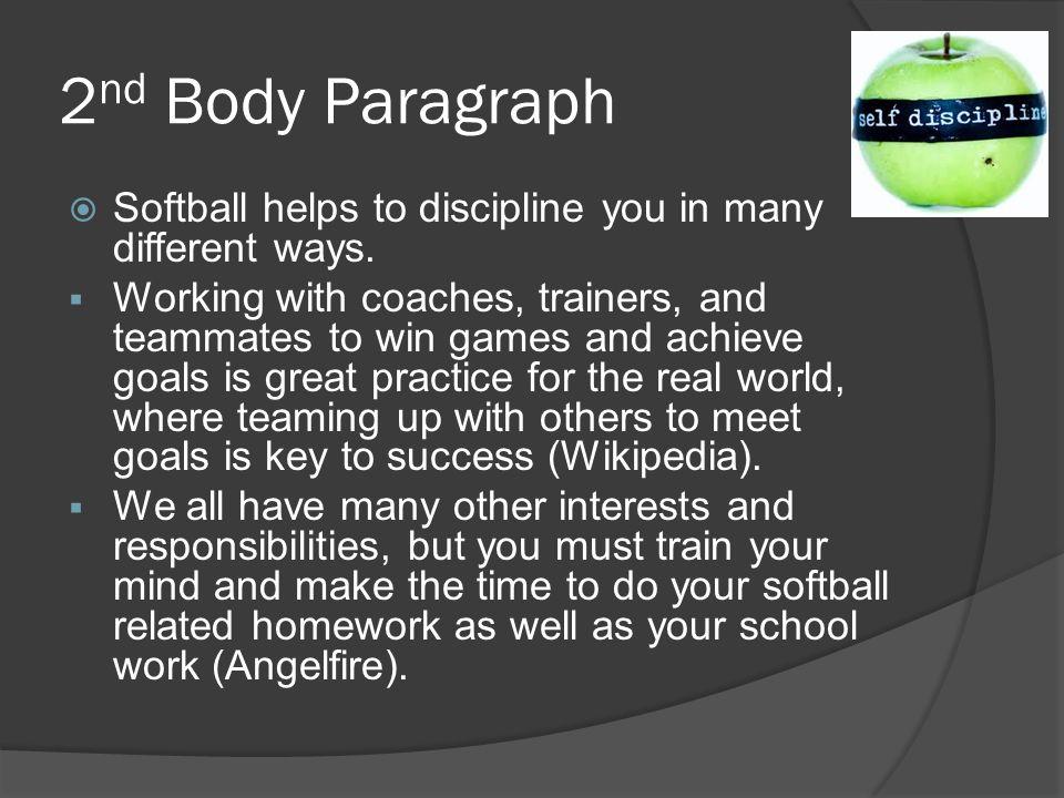 Discipline key success essay
