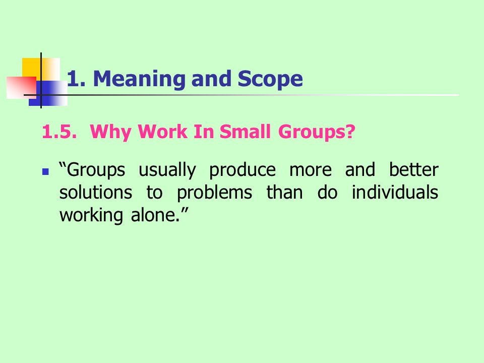 expository working in a group is better than working alone Moreover, i think that working in some group is more interesting and allow us to  work harder since  in my opinion, the best way for doing assignments or  projects is to create some  also, some times i prefer to work alone.