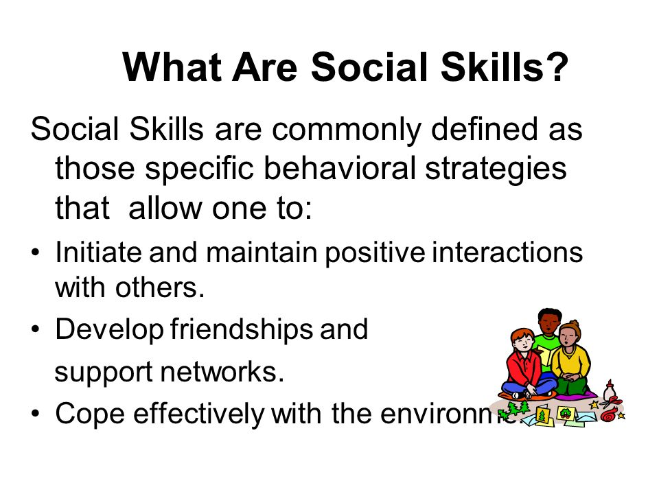 Why Social Skills Are Key to Learning