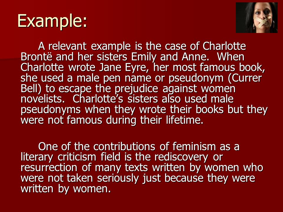 Feminist Literary Criticism Questions and Answers