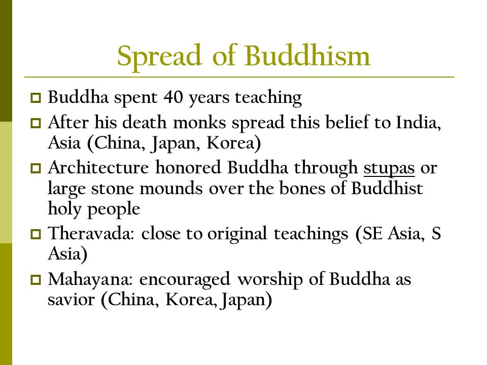 spread of buddhism in china thesis Bibliography -- historical and cultural analyses of the spread of buddhism and  the place of buddhism in chinese culture today.