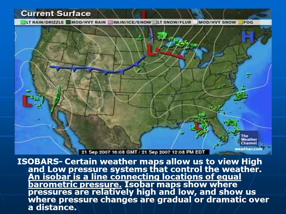 Current Us Weather Map Isobars - Current us weather