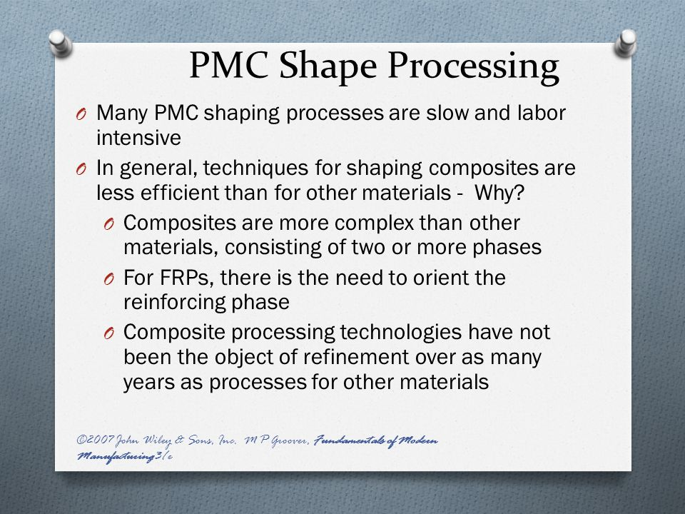 manufacturing techniques for polymer matrix composites pdf