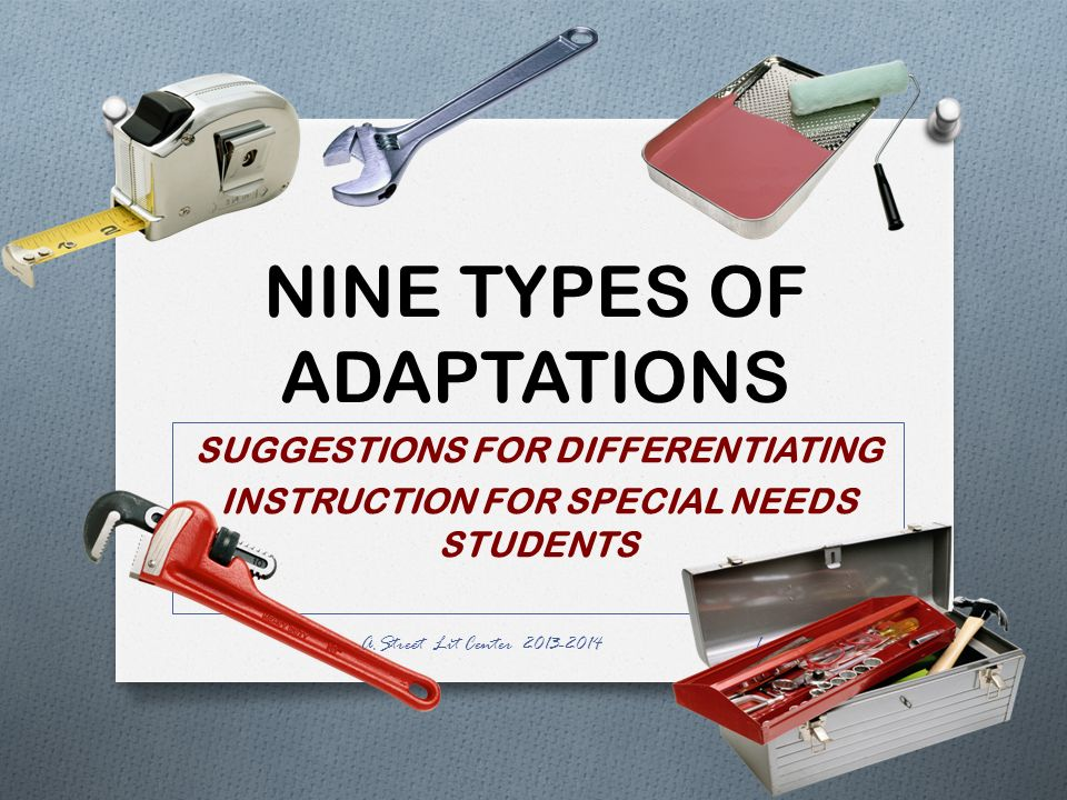 Nine Types Of Adaptations Ppt Video Online Download