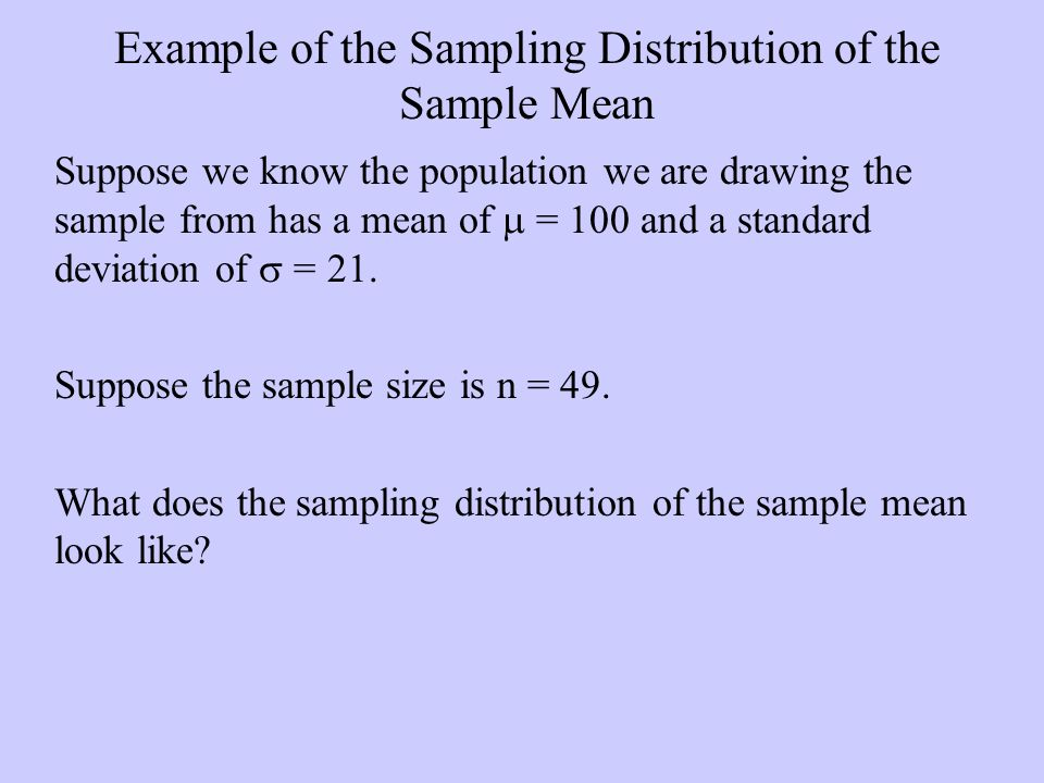 the standard error of the sampling distribution when we know the population standard deviation is eq The standard deviation of the sampling distribution of a statistic standard error is a statistical term that measures the accuracy with which a sample represents a population in statistics, a sample mean deviates from the actual mean of a population this deviation is the standard error.