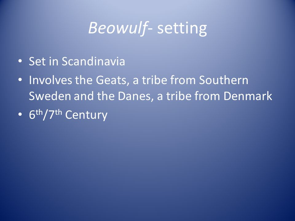How did Beowulf show loyalty in the story?