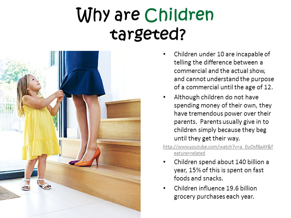 Impact of Advertising on Children