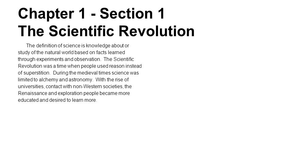 an analysis of the scientific revolution Prsms document analysis learning using a school-wide document based question name:_____  a revolution that max planck avowed  force was probably professional jealousy, but scientific.
