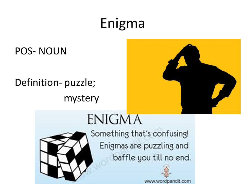 sat vocabulary unit list ppt video online  37 enigma pos noun definition puzzle mystery