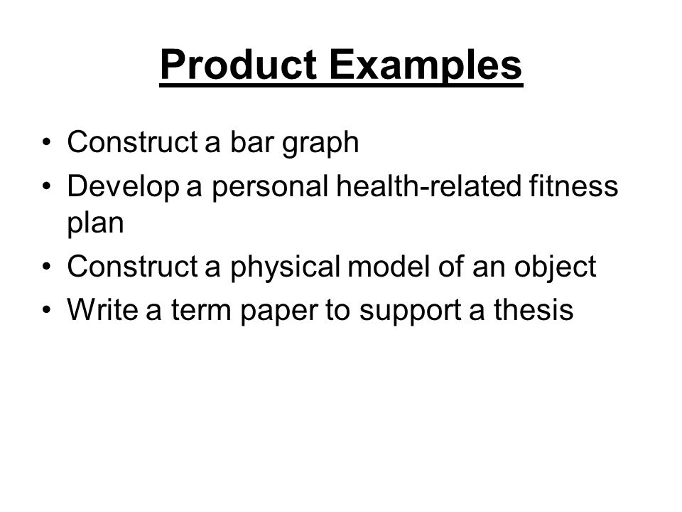 Personal Construct Examples