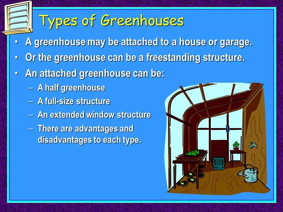 Location And Type Of Greenhouse Ppt Download