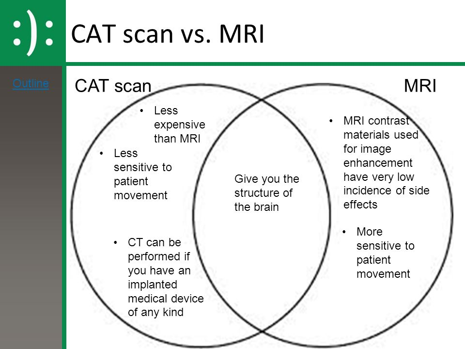 mri vs ct scans Ct or computerized tomography scan uses x-rays that take images of cross-sections of the bones or other parts of the body to diagnose tumors or lesions in the abdomen, blood clots, and lung conditions like emphysema or pneumonia mri or magnetic resonance imaging uses strong magnetic fields and.