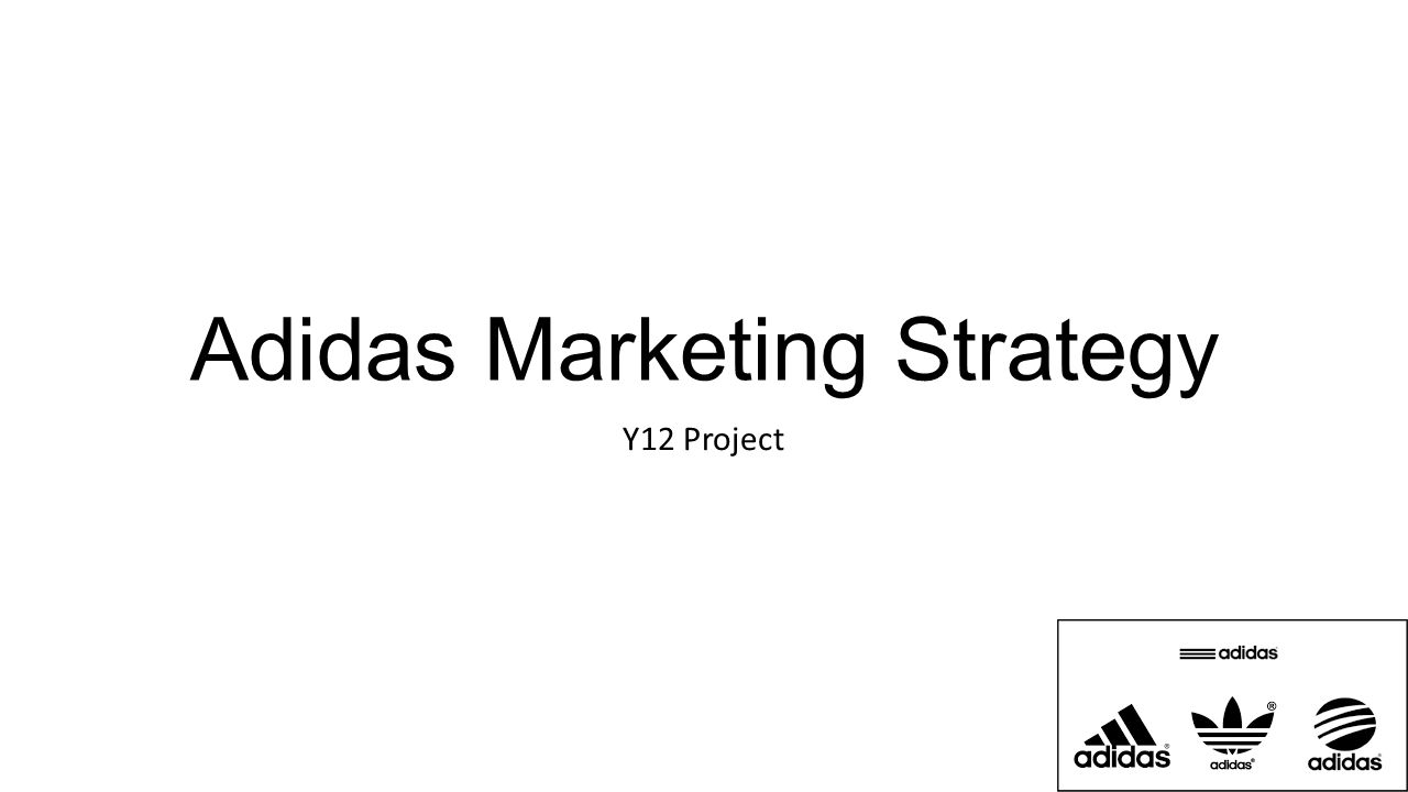 Marketing Plan of Adidas