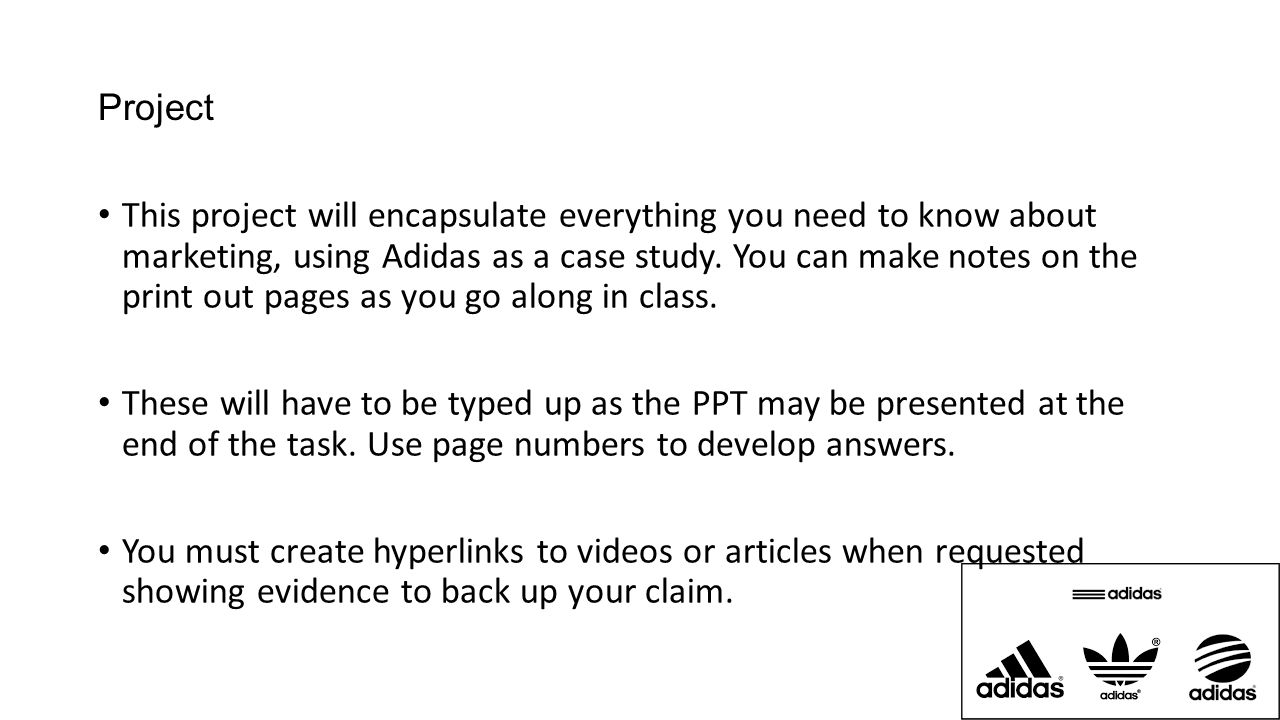 adidas case study marketing Welcome to the datafeedwatch case studies see how we've provided data feed optimization to adidas and nextail, and what our customers are saying.